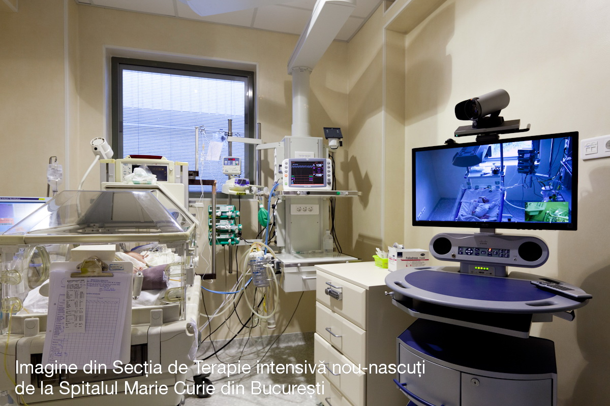 Sectia de Terapie Intensiva Nou-Nascuti de la Spitalul Marie Curie din Bucuresti