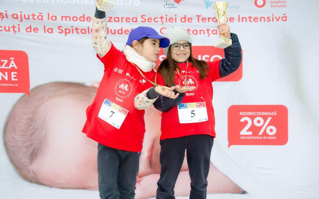 450 de participanti la Maratonul Nisipului au ajutat nou-nascutii din Constanta