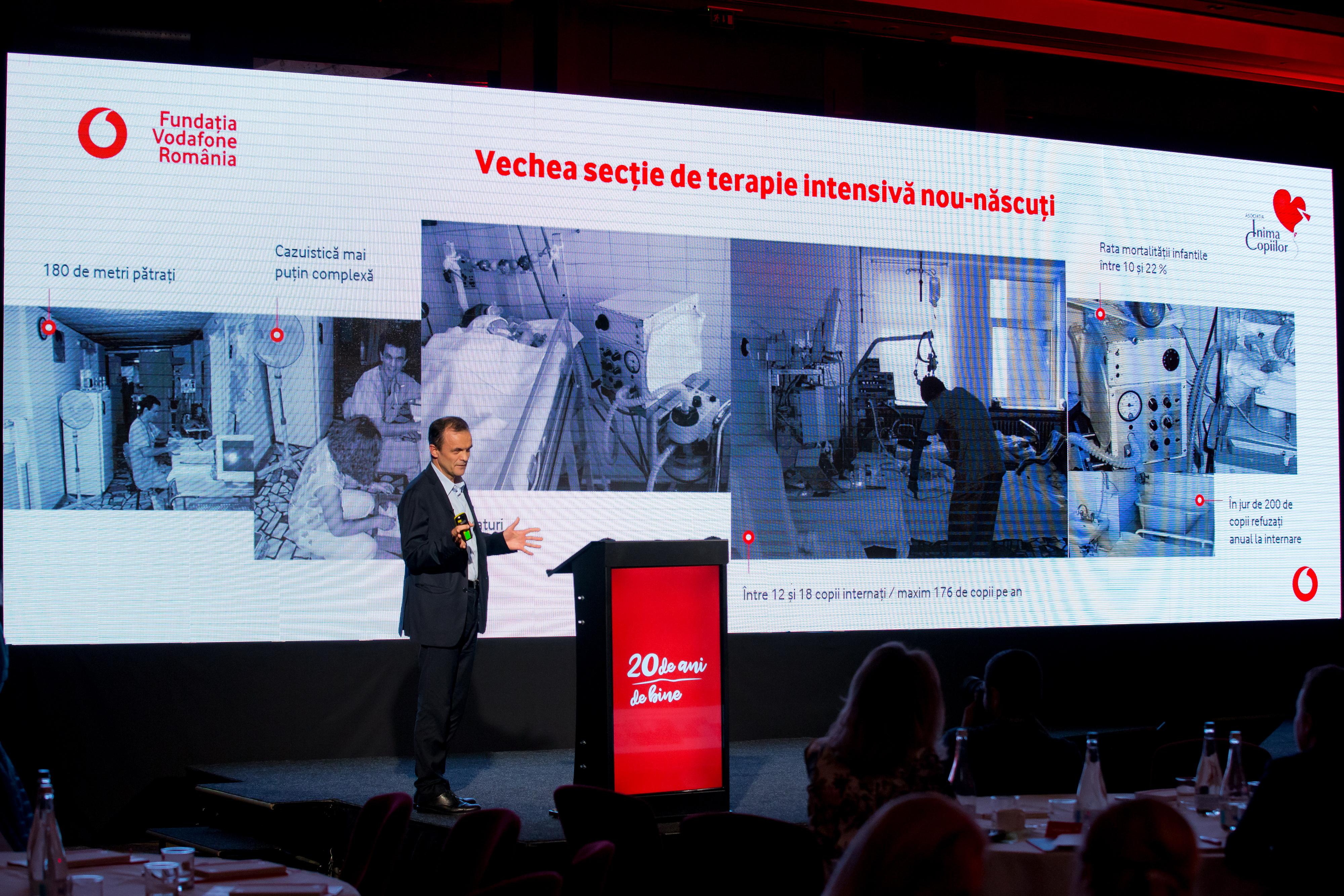 Fundația Vodafone România finanțează cu 1,1 milioane de euro proiectul nostru